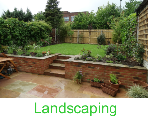 Landscaping in Surrey & Sussex by Leith Construction