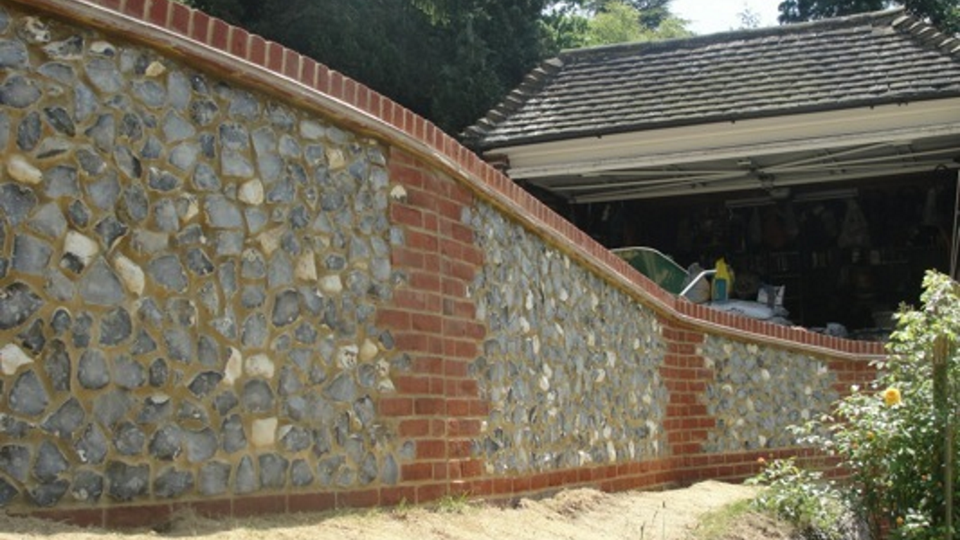 brickwork stonework flintwork by Leith Construction Surrey & Sussex dorking horsham